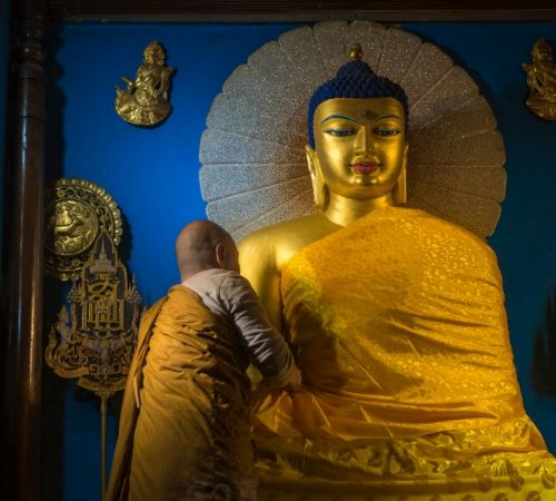 Footstep of Buddha